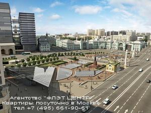 Агентство ФЛЭТ ЦЕНТР - аренда квартир посуточно у м.Белорусская