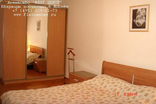 Квартира посуточно на м.Белорусская,ул.1-я Тверская-Ямская д.26.