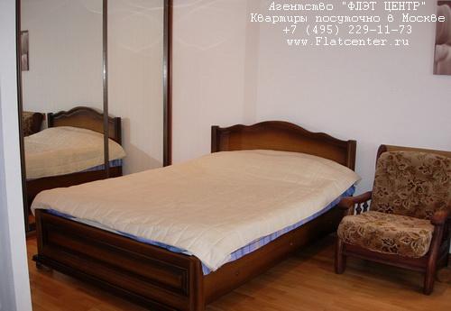 Квартира посуточно на м.Белорусская,Угловой пер. д.2.