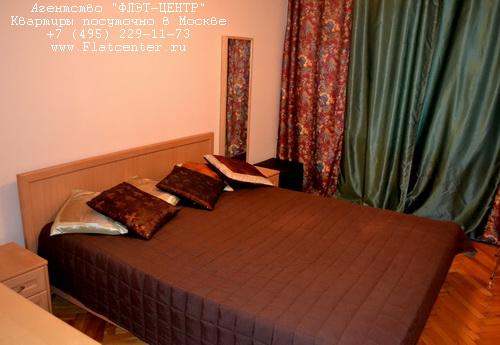 Квартира посуточно на м.Белорусская,ул.Васильевская д.9.