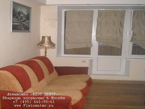 Квартира посуточно на м.Беляево,ул.Профсоюзная д.110.