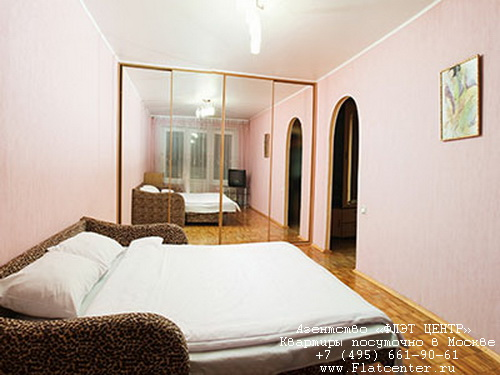 Квартира посуточно в Москве рядом м.Беляево.Гостиница на ул.Введенского