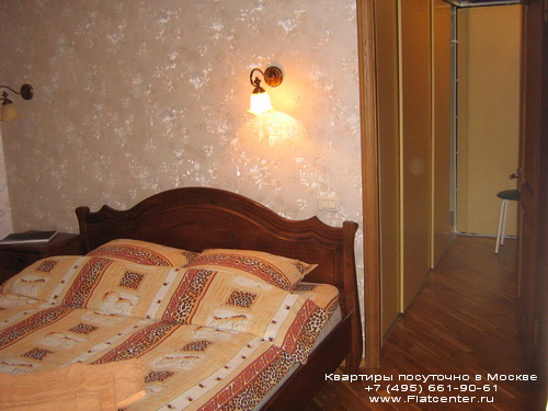 Квартира посуточно на м.Беляево,ул.Введенского,д.24.
