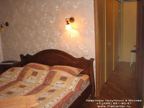 Квартира посуточно на м.Беляево,ул.Введенского,д.24.Гостиница м.Беляево