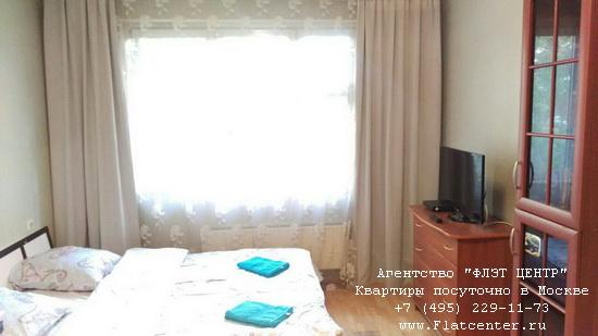 Квартира посуточно вблизи метро Петровско-Разумовская, ул.Талдомская, д.11 к. 2