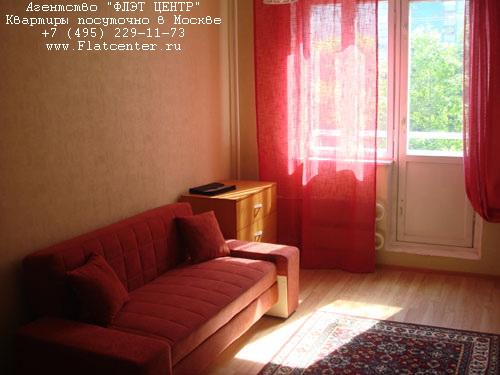 Квартира посуточно на м.Бибирево,ул.Лескова д.23 .