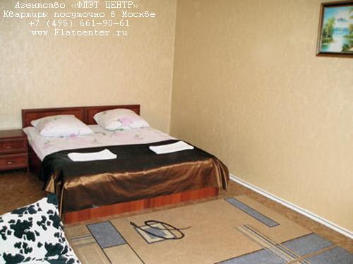 Квартира посуточно на м.Бунинская Аллея,Адмирала Лазарева д.40.
