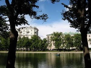Фото района у м.Чистые Пруды