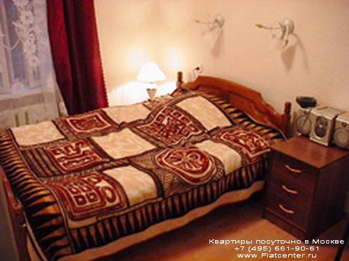 Квартира посуточно в Москве рядом м.Сретенский Бульвар,Гусятников пер. 11