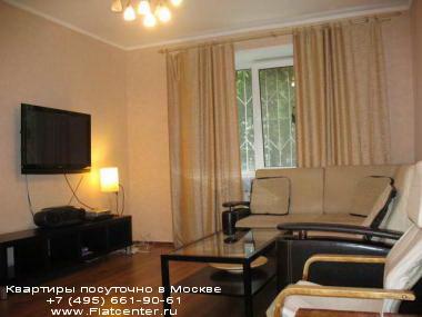 Квартира посуточно на м.Чистые пруды,ул.Мясницкая, 35.Гостиница на Мясницкой