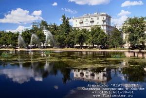 Фото района Чистые Пруды в Москве