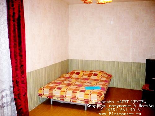 Однокомнатная квартира посуточно в Москве рядом метро Аэропорт,ул.Верхняя Масловка д.12