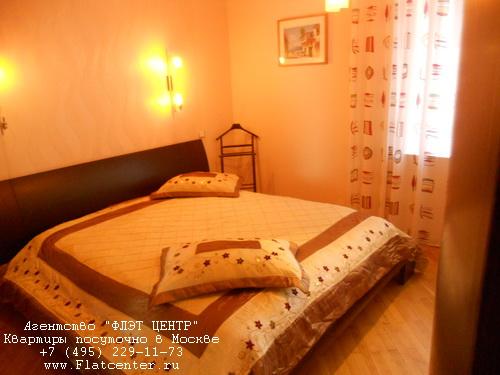 Снять квартиру посуточно м.Добрынинская, ул.Павла Андреева д.28