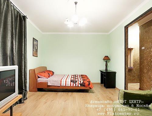 Квартира посуточно на м.Добрынинская,Ул.Люсиновская д.48.Гостиница на Люсиновской ул