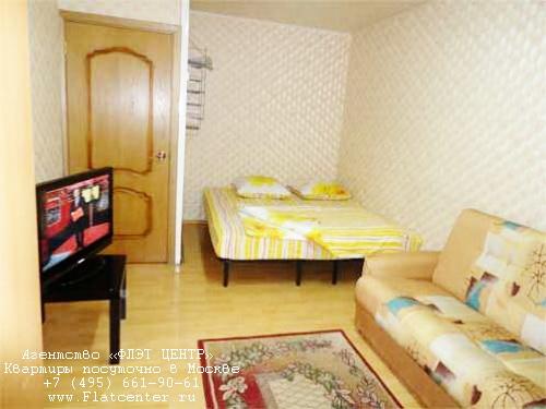 Квартира посуточно на м.Домодедовская,Каширское шоссе д.106.