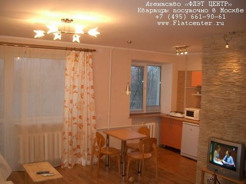 Квартира посуточно на м. Домодедовская, Ореховый бульвар д.7 .