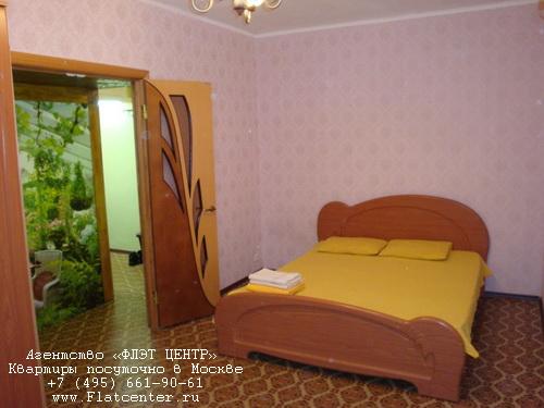 Квартира посуточно на м.Филевский парк,ул.Большая Филёвская, д.37.