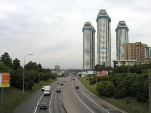 Фото района у метро Филёвский Парк