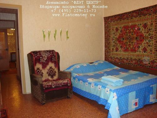 Квартира посуточно на м.Филёвский Парк,ул.Олеко Дундича д.34.