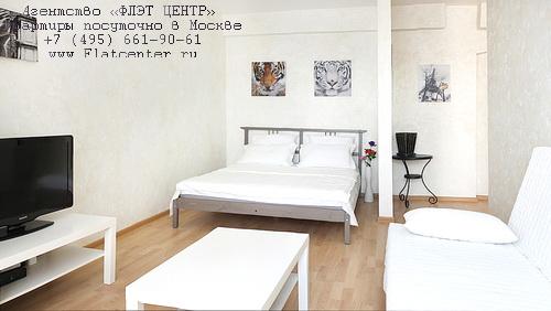 Квартира посуточно на м.Фрунзенская,Комсомольский пр. д.34.