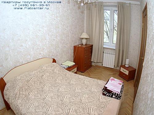 Квартира посуточно на м.Фрунзенская,Комсомольский пр-т д.34.