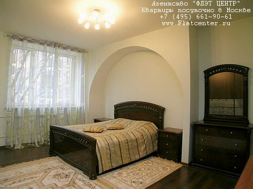 Квартира посуточно на м.Фрунзенская,Оболенский пер. д.9 к.1.