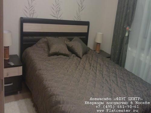 Квартира посуточно в Москве рядом м.Пр-т Вернадского.Гостиница на ул.Обручева 37