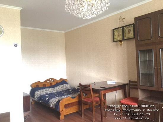 Квартира посуточно вблизи метро Каширская, ул.Академика Миллионщикова д.31