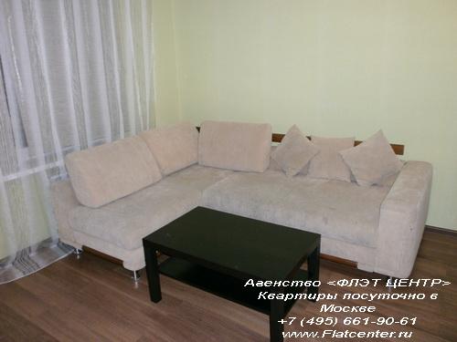 Квартира посуточно на м. Коломенская,ул Новинки д.5.
