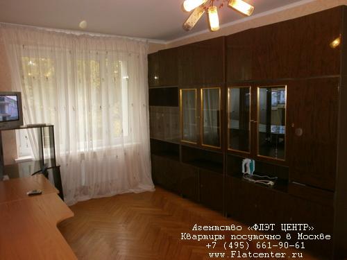 Квартира посуточно на м.Коломенская,Судостроительная улица д.7.