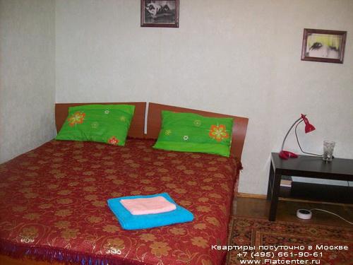 Квартира посуточно в Москве рядом с м.Коломенская.Гостиница на проспекте Андропова