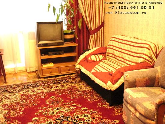 Квартира посуточно в Москве рядом м.Коньково.Гостиница на Профсоюзной