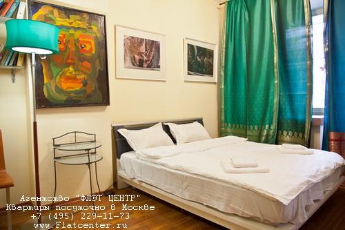 Аренда на сутки м.Красные Ворота, 1-й Басманный пер. д.5