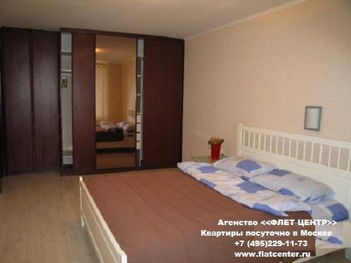 Квартира посуточно на м.Краснопресненская,Малая Грузинская  д.12.