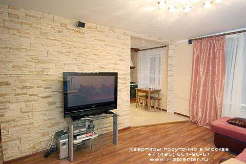 Квартира посуточно на м.Краснопресненская,ул. Николаева, д.1.