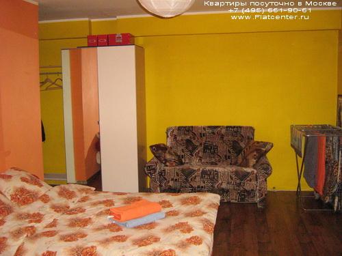 Квартира посуточно в Москве рядом м.Красносельская.Гостиница на Кропоткинской