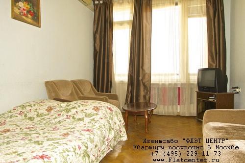 Квартира посуточно на м.Кропоткинская,Б.Афанасьевский пер. д.11.