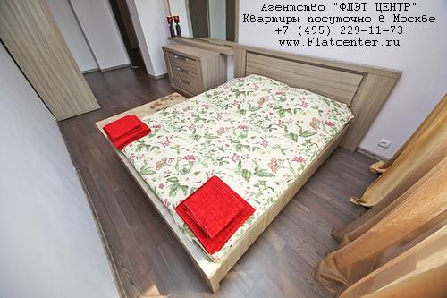 Квартира посуточно на м.Кропоткинская,ул.Пречистенка д.17.