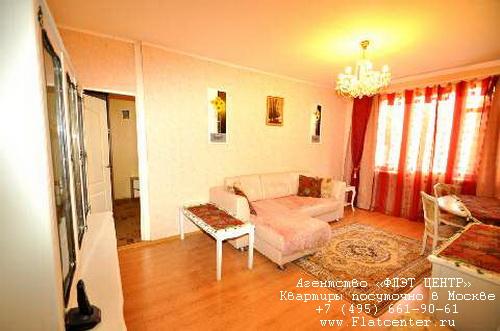 Квартира посуточно на м.Крылатское,ул.Академика Павлова д.30 .