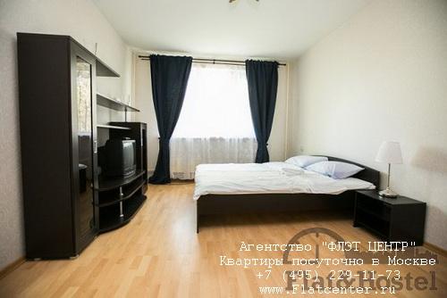 Квартира посуточно вблизи метро Крылатское, ул.Крылатские Холмы д.35