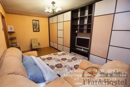 Квартира посуточно вблизи метро Крылатское, Осенний бульвар д.10