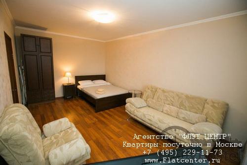 Квартира посуточно вблизи метро Крылатское, ул.Осенний бульвар д.10