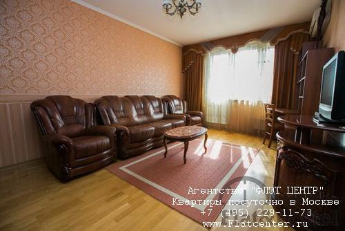 Квартира посуточно вблизи метро Крылатское, ул.Осенний бульвар д.6