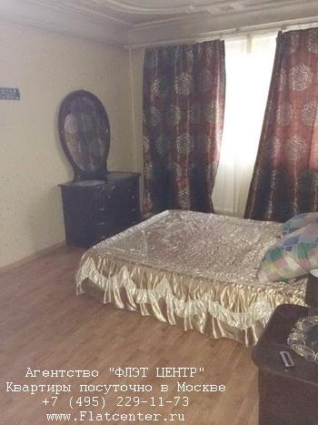 Квартира посуточно вблизи метро Крылатское, ул.Осенняя д.26