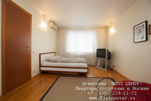 Квартира посуточно вблизи метро Крылатское, ул.Осенняя д.14