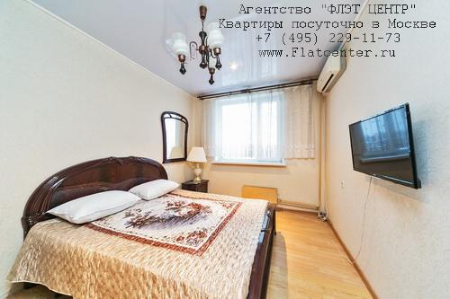 Квартира посуточно вблизи метро Крылатское, Рублёвское шоссе д.40
