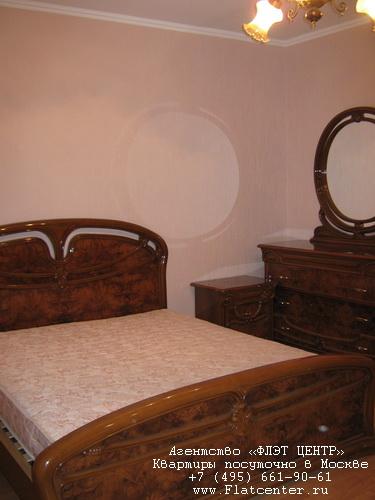 Квартира посуточно на м.Кунцевская,ул.Гришина д.2.