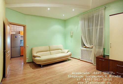 Квартира посуточно метро Чистые Пруды,в центре Москвы