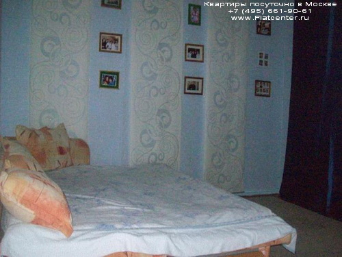 Квартира посуточно в Москве м.Кузьминки, Волгоградский проспект д.95.Гостиница в Кузьминках