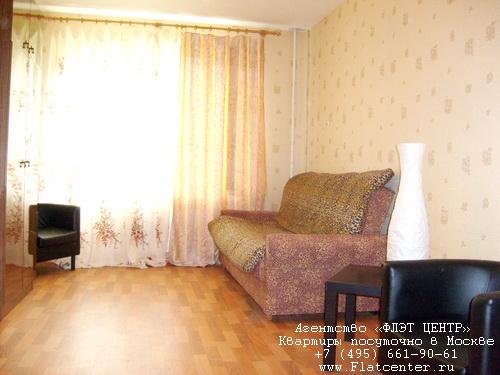 Квартира посуточно на м.Кузьминки,ул.Жигулёвская д.4.